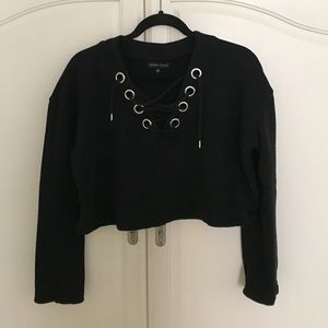 Kendall & Kylie Cropped Sweatshirt